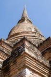 Μεγάλο αρχαίο stupa Στοκ Εικόνες