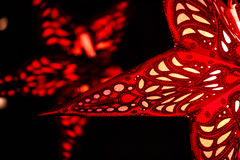 Μεγάλο αστέρι Χριστουγέννων Στοκ φωτογραφία με δικαίωμα ελεύθερης χρήσης