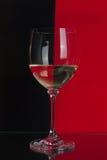 Μεγάλο γυαλί κόκκινος και μαύρος στοκ εικόνες με δικαίωμα ελεύθερης χρήσης