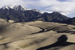Μεγάλο εθνικό πάρκο αμμόλοφων άμμου στο νότιο Κολοράντο Στοκ φωτογραφίες με δικαίωμα ελεύθερης χρήσης