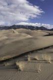 Μεγάλο εθνικό πάρκο αμμόλοφων άμμου στο νότιο Κολοράντο Στοκ εικόνα με δικαίωμα ελεύθερης χρήσης