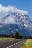 Μεγάλο εθνικό πάρκο Teton στο Ουαϊόμινγκ Στοκ Εικόνες