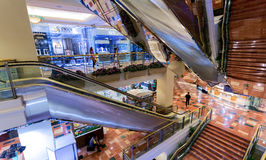 Μεγάλο εμπορικό κέντρο στην Τζακάρτα Στοκ Εικόνες