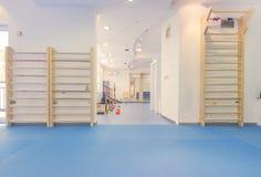 Μεγάλο εσωτερικό δωματίων, κανένας άνθρωπος, φυσική θεραπεία Στοκ εικόνα με δικαίωμα ελεύθερης χρήσης