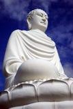 μεγάλο λευκό του Βούδα στοκ φωτογραφία