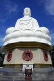 μεγάλο λευκό του Βούδα στοκ εικόνες
