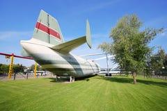 Μεγάλο ελικόπτερο φορτίου β-12 (mi-12) Στοκ εικόνες με δικαίωμα ελεύθερης χρήσης