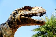 μεγάλο ζωντανό tyranosaurus στοματικού rex μεγέθους Στοκ εικόνα με δικαίωμα ελεύθερης χρήσης