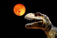 μεγάλο ζωντανό tyranosaurus στοματικού rex μεγέθους Στοκ Εικόνα