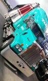 Μεγάλο ημι φορτηγό ρυμουλκών Στοκ Εικόνα