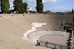 Μεγάλο θέατρο στην Πομπηία Στοκ Φωτογραφία