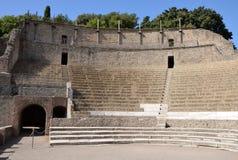Μεγάλο θέατρο στην Πομπηία Στοκ φωτογραφία με δικαίωμα ελεύθερης χρήσης