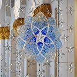 Μεγάλο διακοσμητικό παράθυρο μουσουλμανικών τεμενών Στοκ φωτογραφία με δικαίωμα ελεύθερης χρήσης