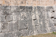 Μεγάλο δικαστήριο σφαιρών για το παιχνίδι ` pok-TA ` σε Chichen Itza, Μεξικό Στοκ εικόνες με δικαίωμα ελεύθερης χρήσης