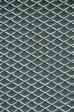 μεγάλο δικτυωτό πλέγμα σιδήρου πυλών φραγών τούβλου διακοσμητικό Στοκ εικόνα με δικαίωμα ελεύθερης χρήσης