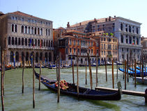 Μεγάλο κανάλι, Βενετία Στοκ φωτογραφία με δικαίωμα ελεύθερης χρήσης