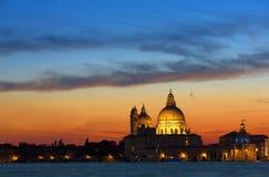 Μεγάλο κανάλι, Βενετία Στοκ εικόνα με δικαίωμα ελεύθερης χρήσης