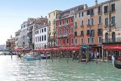 Μεγάλο κανάλι Βενετία Στοκ Φωτογραφίες