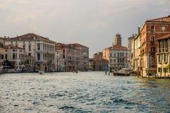 Μεγάλο κανάλι Βενετία Στοκ Φωτογραφία