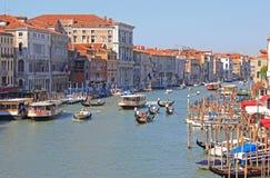 Μεγάλο κανάλι της Βενετίας Στοκ Φωτογραφίες