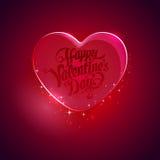 μεγάλο κόκκινο καρδιών Στοκ Φωτογραφία