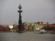 μεγάλο μνημείο Μόσχα Peter Στοκ Φωτογραφίες