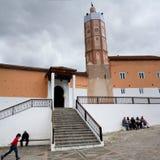 Μεγάλο μουσουλμανικό τέμενος σε Chefchaouen, Μαρόκο Στοκ Εικόνα