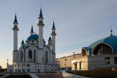 Μεγάλο μουσουλμανικό τέμενος στο Κρεμλίνο Kazan Στοκ Εικόνες