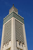 Μεγάλο μουσουλμανικό τέμενος του Παρισιού Στοκ εικόνες με δικαίωμα ελεύθερης χρήσης