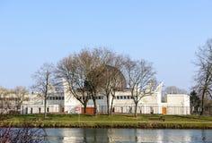 Μεγάλο μουσουλμανικό τέμενος του Στρασβούργου Ευρώπη Γαλλία Αλσατία Στοκ εικόνες με δικαίωμα ελεύθερης χρήσης