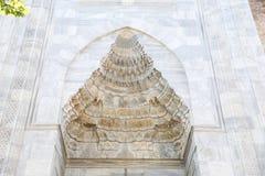 Μεγάλο μουσουλμανικό τέμενος του Bursa στην Τουρκία Στοκ εικόνα με δικαίωμα ελεύθερης χρήσης
