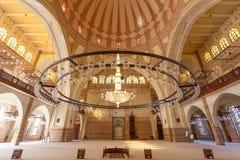Μεγάλο μουσουλμανικό τέμενος Al Fateh σε Manama, Μπαχρέιν Στοκ Εικόνες