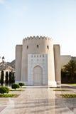 Μεγάλο μουσουλμανικό τέμενος Qaboos σουλτάνων Στοκ εικόνες με δικαίωμα ελεύθερης χρήσης