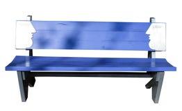 Μεγάλο μπλε πάγκων Στοκ φωτογραφία με δικαίωμα ελεύθερης χρήσης