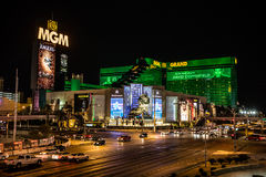 μεγάλο ξενοδοχείο χαρτοπαικτικών λεσχών mgm Στοκ Εικόνα