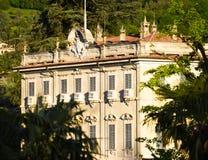 Μεγάλο ξενοδοχείο Temezzo, λίμνη Como Στοκ Φωτογραφίες