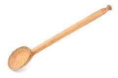 Μεγάλο ξύλινο κουτάλι Στοκ φωτογραφίες με δικαίωμα ελεύθερης χρήσης