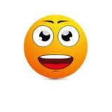 Μεγάλο οδοντωτό χαμόγελο απεικόνιση αποθεμάτων