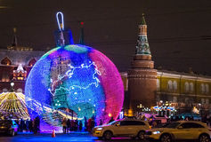 Μεγάλο παιχνίδι Χριστουγέννων Στοκ Εικόνες