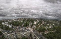 Μεγάλο πανόραμα πόλεων Στοκ φωτογραφίες με δικαίωμα ελεύθερης χρήσης