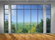 Μεγάλο παράθυρο Στοκ φωτογραφίες με δικαίωμα ελεύθερης χρήσης