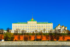 Μεγάλο παλάτι της Μόσχας Κρεμλίνο Στοκ Εικόνες