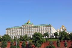Μεγάλο παλάτι του Κρεμλίνου στη Μόσχα Στοκ φωτογραφία με δικαίωμα ελεύθερης χρήσης