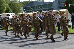 Μεγάλο πολεμικό γεγονός Brooklands 1916-2016 Στοκ Φωτογραφία