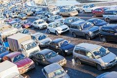Μεγάλο πώμα μεταφορών Στοκ φωτογραφία με δικαίωμα ελεύθερης χρήσης
