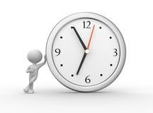 Μεγάλο ρολόι διανυσματική απεικόνιση