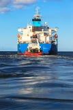 Μεγάλο σκάφος οπισθοσκόπο Στοκ φωτογραφία με δικαίωμα ελεύθερης χρήσης