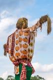 Μεγάλο σκιάχτρο στο παραδοσιακό ταϊλανδικό ύφος στοκ εικόνα με δικαίωμα ελεύθερης χρήσης
