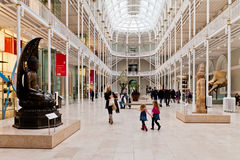 Μεγάλο στοά-εθνικό μουσείο της Σκωτίας Στοκ Φωτογραφία