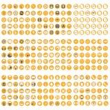 Μεγάλο σύνολο κουμπιών καταστημάτων Στοκ φωτογραφίες με δικαίωμα ελεύθερης χρήσης